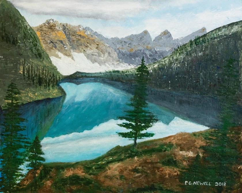 Reflective Lake 2018